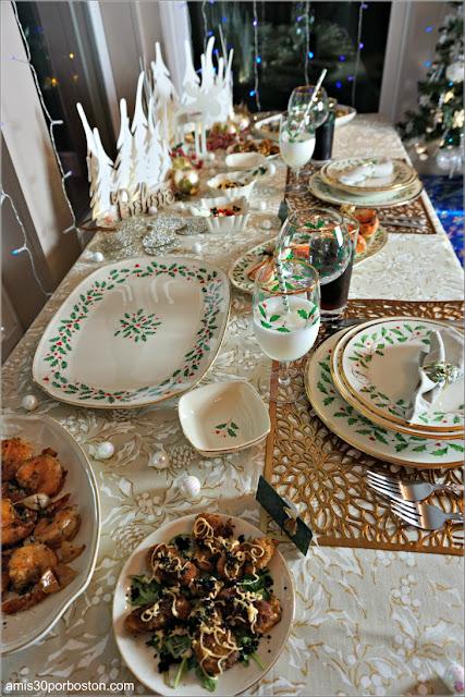 Entrantes de Nuestra Cena de Nochebuena en New Hampshire