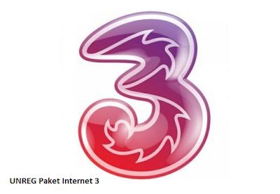 cara unreg paket internet 3