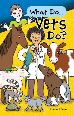 What do vets do? by Emma Juhasz illustrated by Amanda Lillywhite