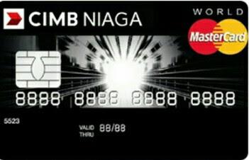 CIMB Niaga Master Card World