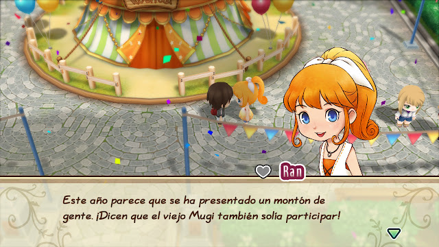 fiesta - Story of Seasons: Friends of Mineral Town