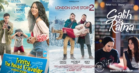 Daftar Film Bioskop Indonesia Terbaru Terpopuler 2018