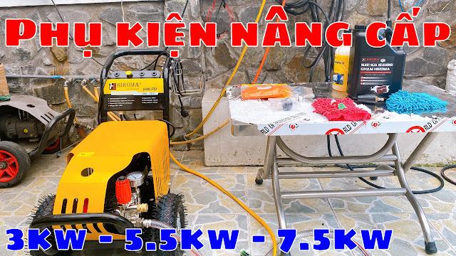 Máy rửa xe chính hãng HIROMA Công suất 3kw Model DHL - 131 2