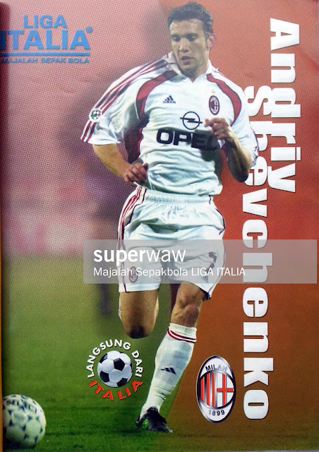 PIN UP ANDRIY SHEVCHENKO (AC MILAN)