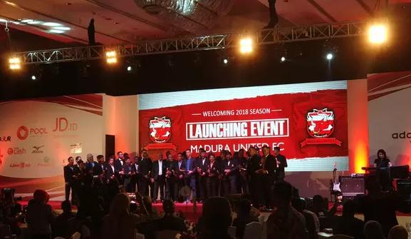 AGEN BOLA - Jelang Piala Presiden 2018, Madura United Launching Tim