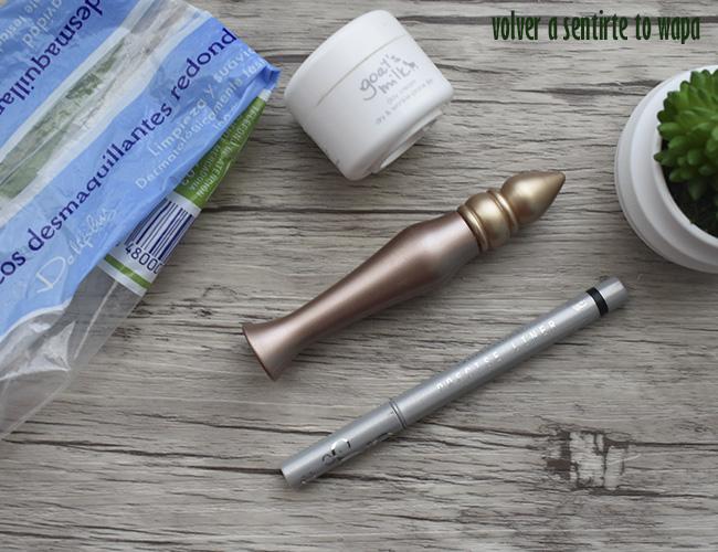 Productos terminados de maquillaje