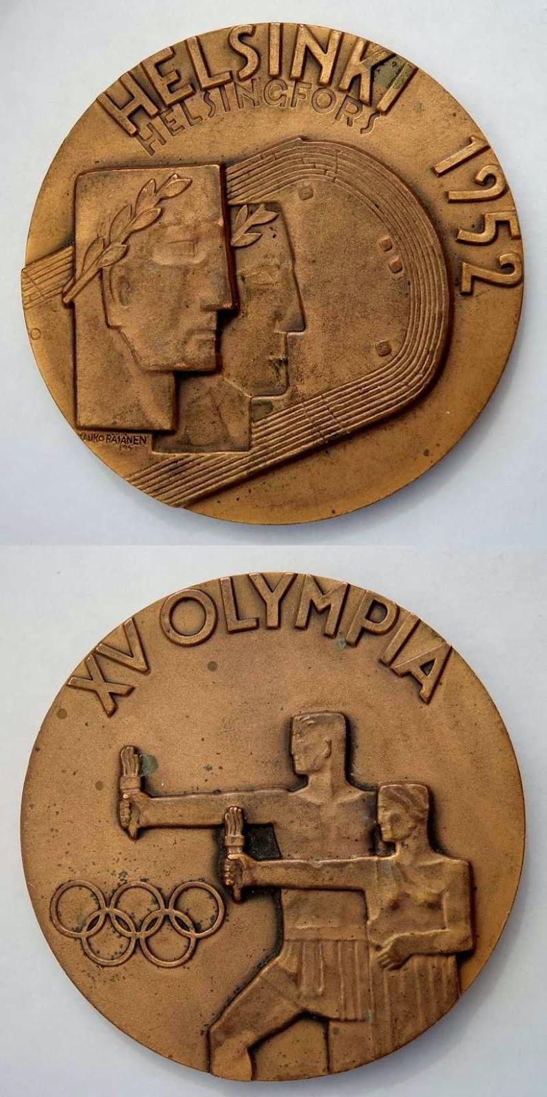 Medalla Juegos Olímpicos de Helsinki 1952