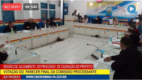 Câmara de Vereadores de Oriximiná cassa o mandato do prefeito William Fonseca