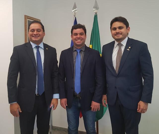 Chiquinho Bringel poderá sair candidato a vereador em Carolina, por indicação do Deputado Juscelino Filho e do Senador Weverton Rocha!!!