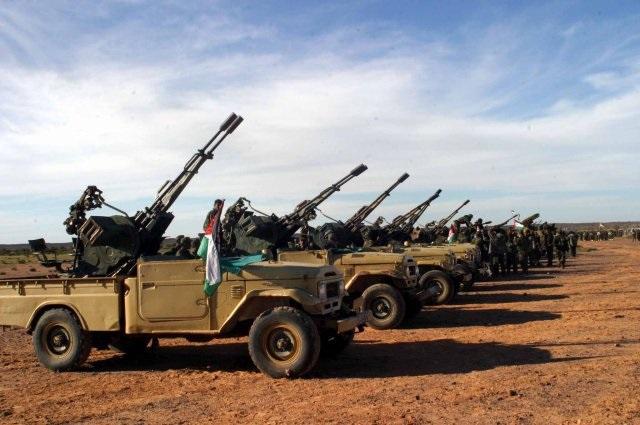 URGENTE | El Ejército de Liberación avanza tras derribar el puesto marroquí de El Guerguerat.
