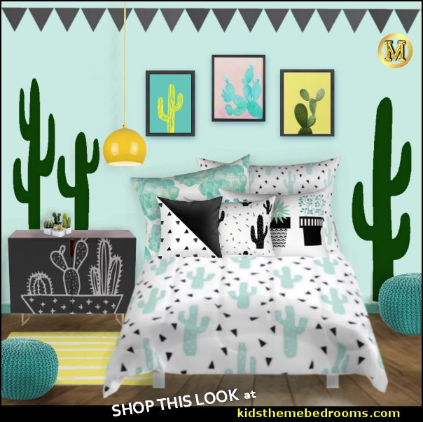 cactus room decor ideas - cactus room theme - cactus wall art - cactus themed bedroom ideas - cactus bedding - cactus wallpaper - cactus wall decals  - cactus themed nursery ideas - cactus rugs - cactus pillows - cactus lighting - cactus furniture  - cactus gifts