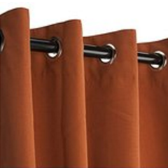 Sunbrella Outdoor Curtain with Grommets