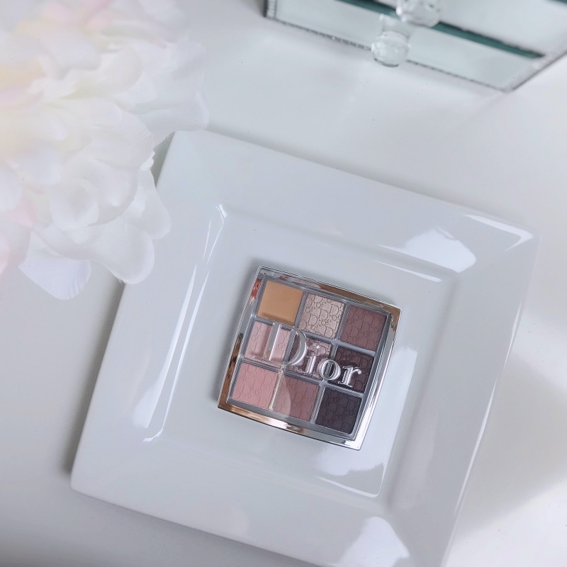 Dior Backstage Eyeshadow Palette Cool Neutrals review