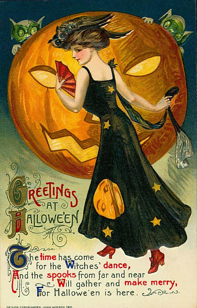 A Collection Of 25 Strange And Creepy Vintage Halloween