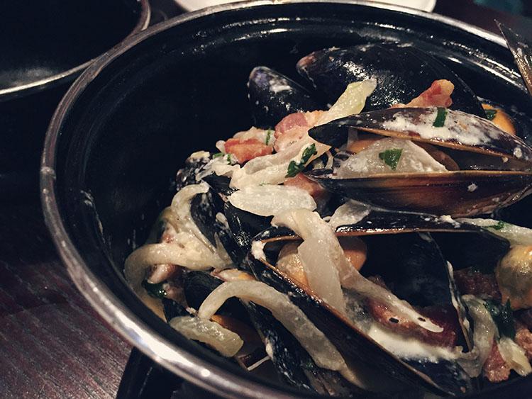 Adelphi Kitchen mussels