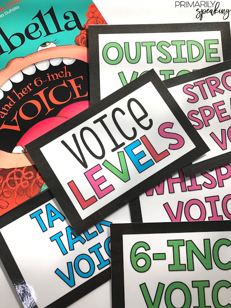 free voice level chart