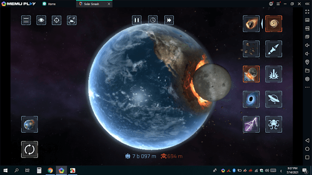 تحميل لعبة تدمير الكواكب للكمبيوتر