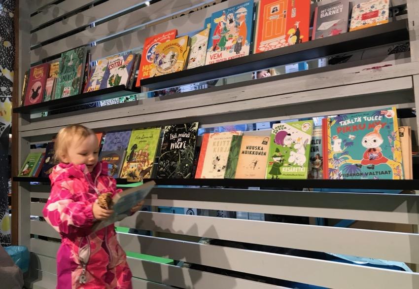 Lasten kanssa Kirjamessuilla