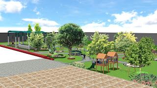 Penyedia Jasa Tukang Taman Rumah dan desain taman Di Surabaya