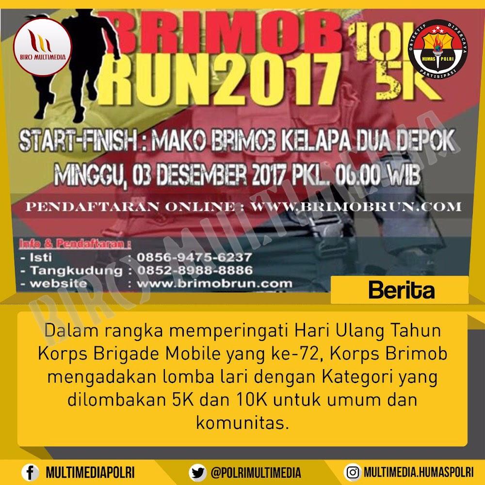 Brimob Run • 2017