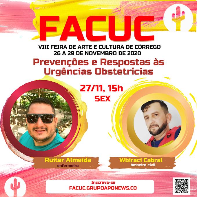 Palestra sobre prevenções e respostas às urgências obstetrícias acontece na FACUC 2020