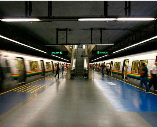 Cerradas temporalmente 10 estaciones del Metro de Caracas #26Oct