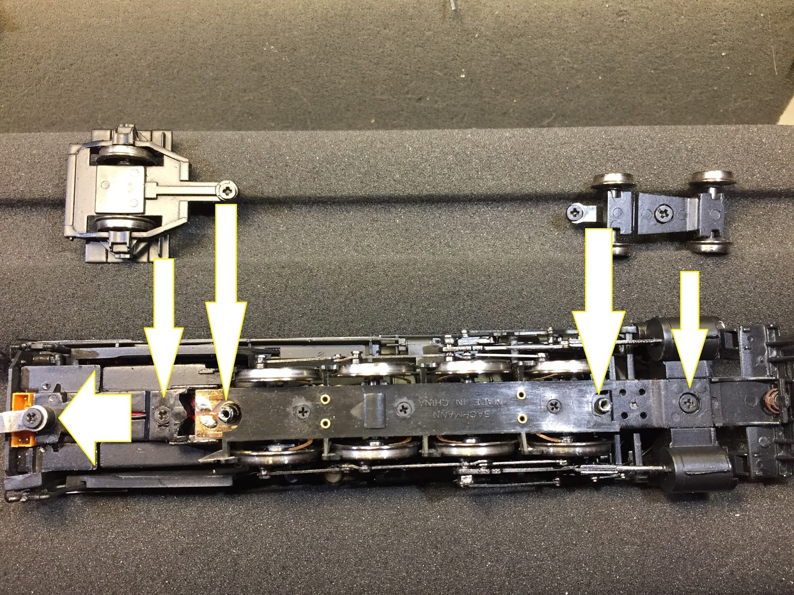 Re Decodering a Bachmann Steamer Model Railroad Hobbyist