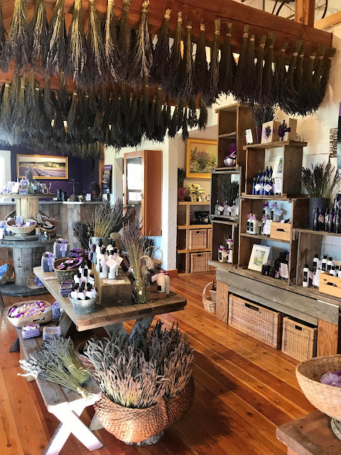 Farm Store at Pelindaba Lavender Farm - Washington