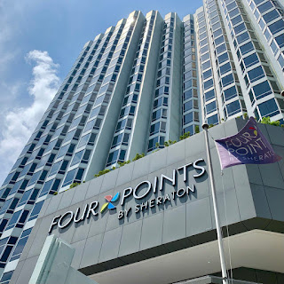 Hotel façade, Four Points by Sheraton Singapore, Riverview