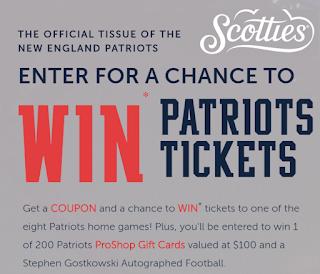 reputable site fff3b c240f $100 Patriots NFL Pro Shop Gift Card Giveaway - 200 Winners ...