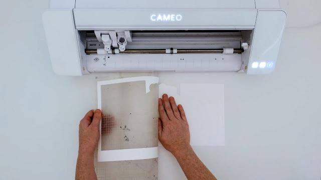 paper crafts, silhouette CAMEO beginners, paper card, beginner tutorials, silhouette cutting mat