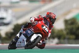 Mario Suryo Aji Selamat dari Kecelakaan di CEV Moto3 Portimao Portugal
