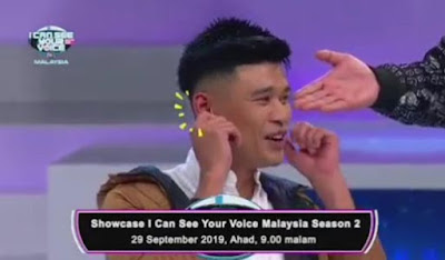 SHOWCASE I Can See Your Voice Malaysia Musim 2 (29.9.2019)