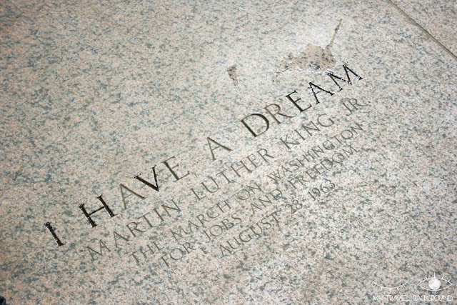 My Travel Background : 12 lieux à visiter à Washington D.C. - Lincoln Memorial - I have a dream