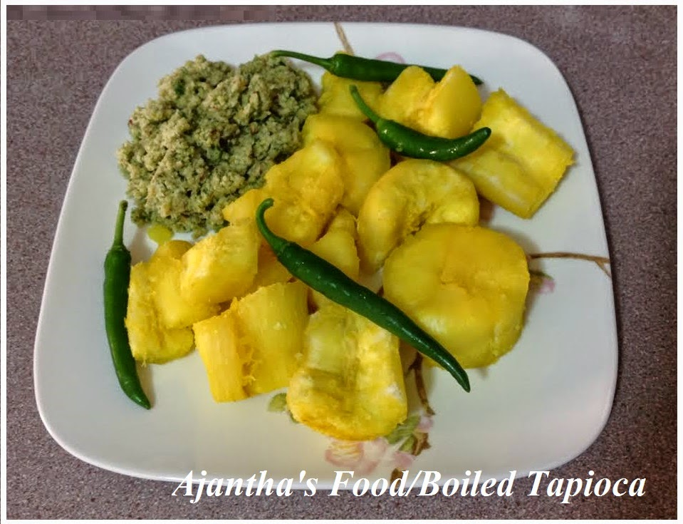 Ajantha'sfood/Tapioca