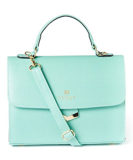 Gunas Flamingo Bag in Mint
