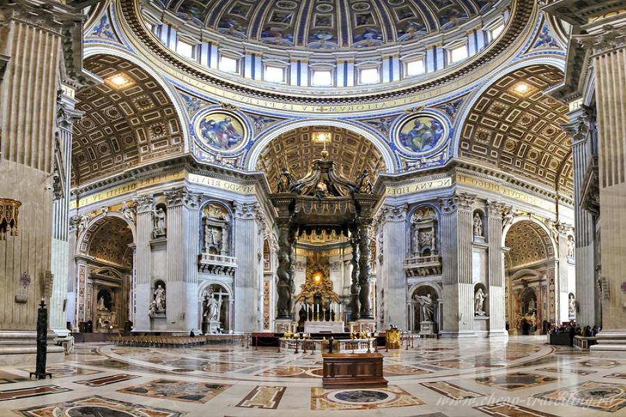 Религия в Италии храм