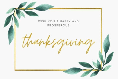 Thanksgiving written on a white background image