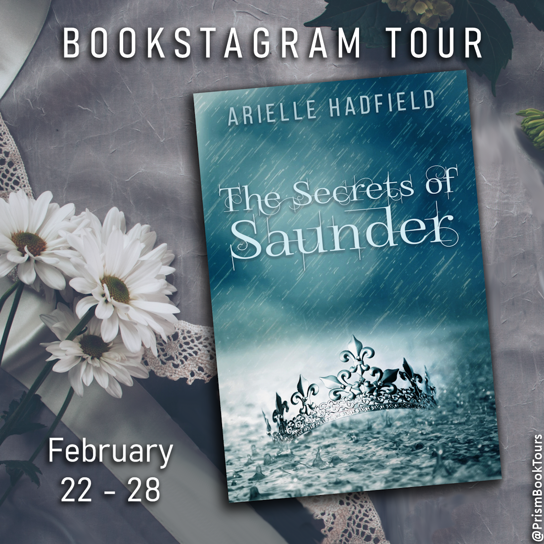 Check out the Bookstagram Tour for THE SECRETS OF SAUNDER by Arielle Hadfield!