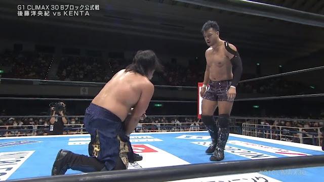 KENTA vs. Hirooki Goto at G1 Climax 30