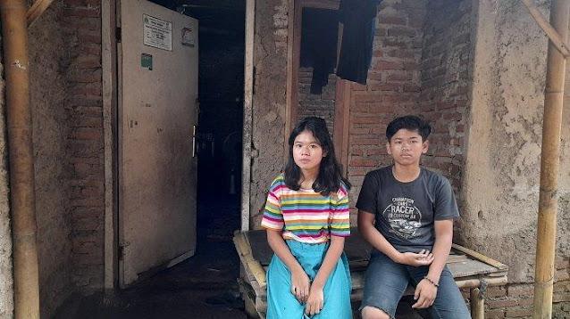 Ayah Meninggal dan Ibunda Kabur, Secuil Kisah Pilu Dua Anak Yatim yang Hidup Terlantar di Serang