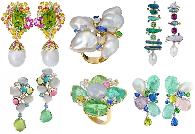 Margot McKinney earrings and rings
