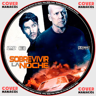 SOBREVIVIR LA NOCHE - SURVIVE THE NIGHT 2020 [COVER - DVD]