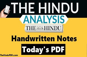 The-Hindu-pdf-Analysis-Notes