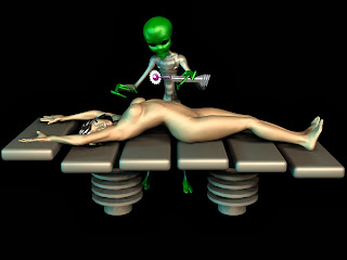 Artist's impression on physical experiments by Aliens (http://thealientheories.blogspot.com)