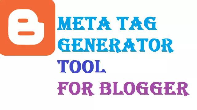Free Online Meta Tag Generator Tool for Blogger in Hindi