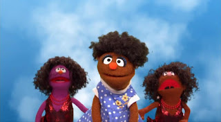 Segi sings Change the World. Sesame Street Episode 4418 The Princess Story season 44
