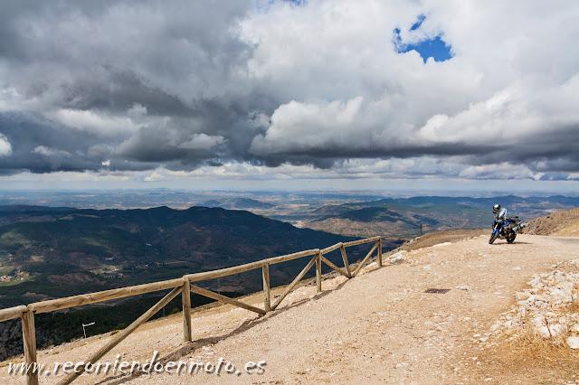 Vista desde El Yelmo, Sierra de Cazorla
