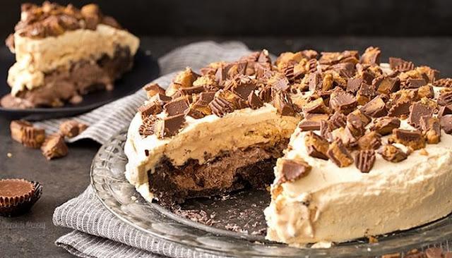 reese's peanut butter ice cream cake recipe