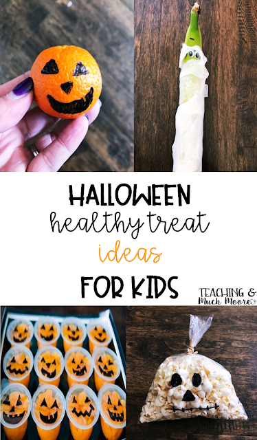 easy, healthy Halloween treats for kids